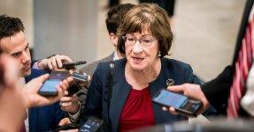 Susan Collins Defends Brett Kavanaugh's Abortion Vote