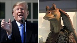 Kellyanne Conway's Husband Thinks Trump Sounds Like Jar Jar Binks