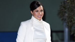 Pregnant Meghan Markle Makes Surprise Trip to NYC For Her Baby Shower