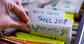 Average tax refund now slightly higher than last year
