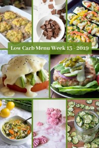 Low Carb Keto Meal Plan Week 13