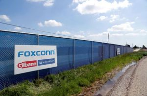 Wisconsin governor says he wants to renegotiate Foxconn contract