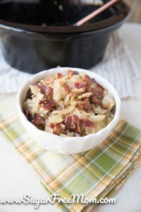 Keto Slow Cooker Cabbage and Onions