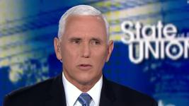The vice president's answer on whether climate crisis is a threat says a lot about the administration's stance