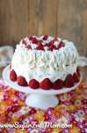 Keto Strawberry Shortcake Cake (Nut Free)