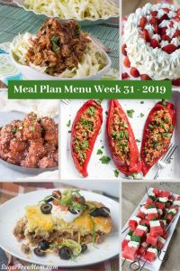 Low Carb Keto Meal Plan Menu Week 31