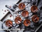 Sugar Free Chocolate Pots De Creme (Keto, Low Carb)