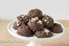 Keto Sugar Free Chocolate Coconut Cookies