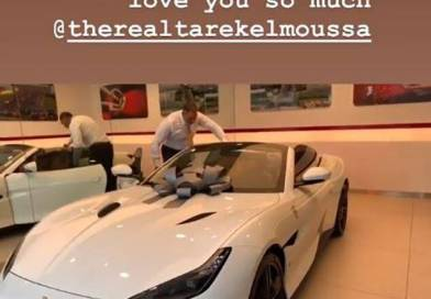 Tarek El Moussa Surprises Heather Rae Young With a Ferrari on Her Birthday