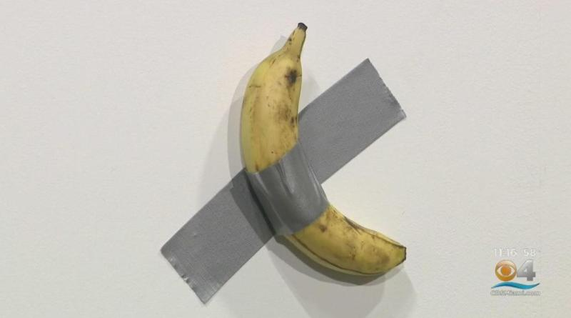 Duct-taped banana sold for $120,000 at Art Basel Miami