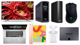 ET Deals: CyberPower 815W UPS For $99, WD Elements 4TB External HDD Just $79, Lowest Price on Apple AirPods