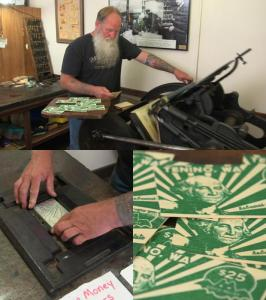 Hard currency: One Washington city prints its own money on wood