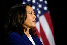 In her first campaign event with Joe Biden, Kamala Harris lays blame for the state of the Covid-19 pandemic in the US at Trump's feet