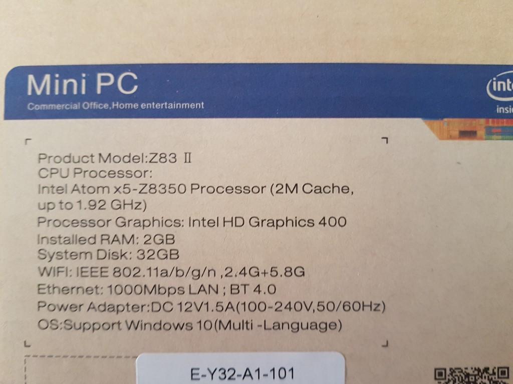 Z83ii Mini PC – Media Player Reviews