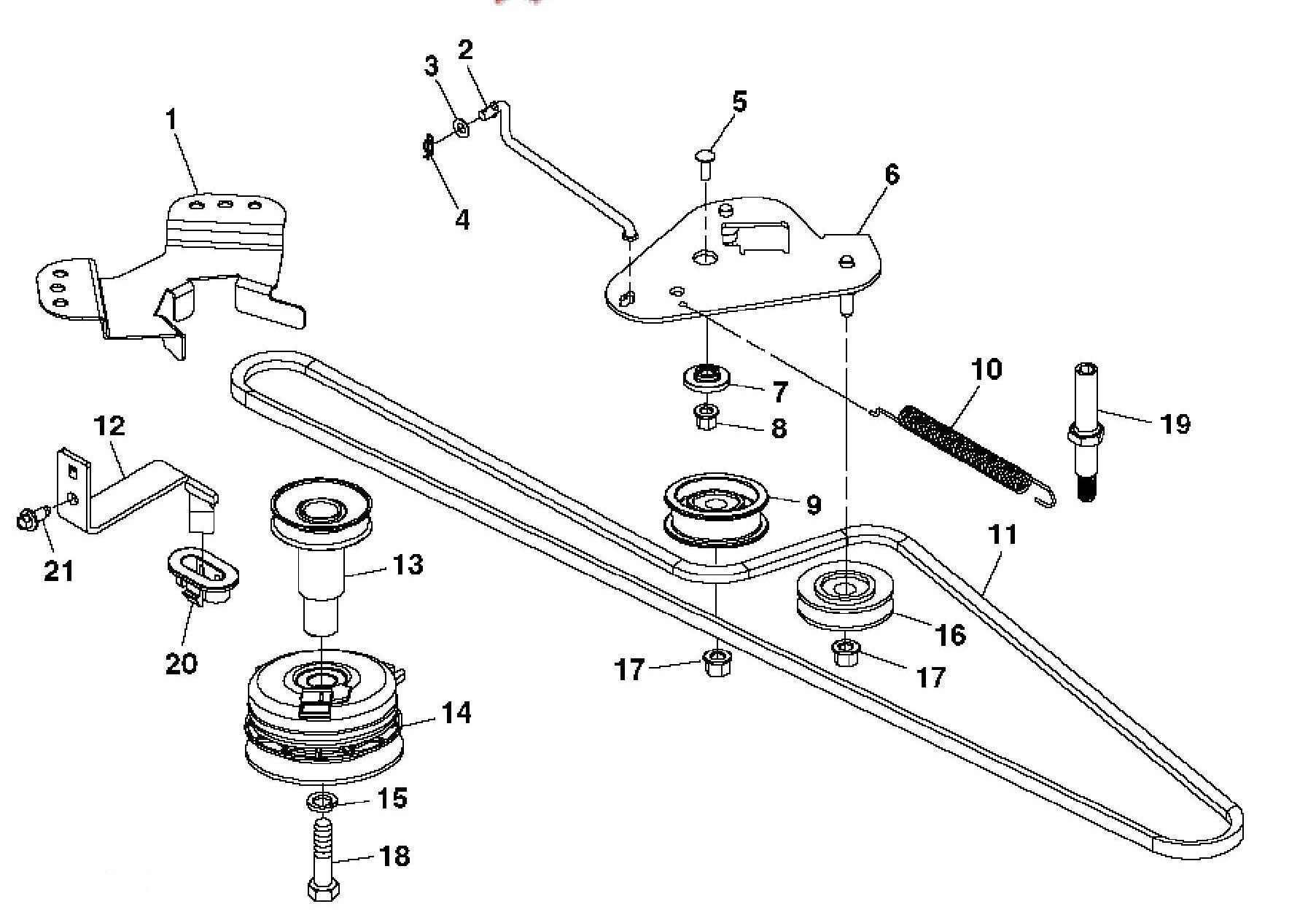 John Deere D110 Parts Manual