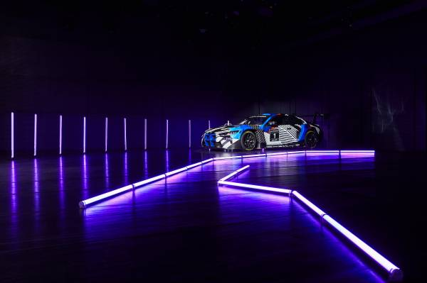 Munich (GER), 5th December 2020. BMW SIM Live, event, show, BMW M4 GT3.