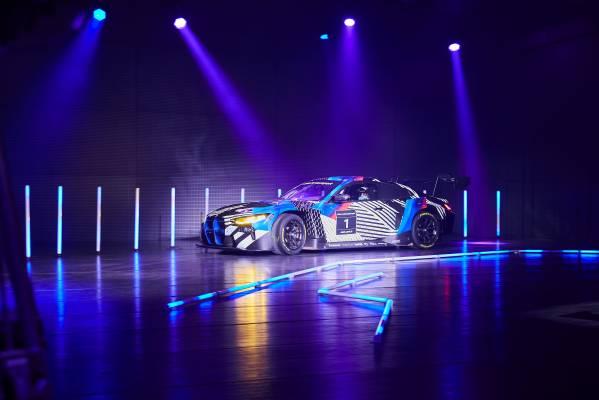 Munich (GER), 5th December 2020. BMW SIM Live, event, show, BMW Welt, BMW M4 GT3, Philipp Eng.
