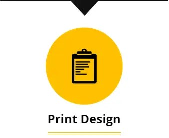 Print Design, for business cards and flyers