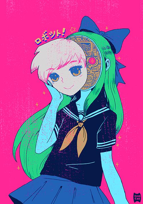 Anime Kawaii Girl Wallpaper Artista Del D 237 A 4 Omocat Mediarama