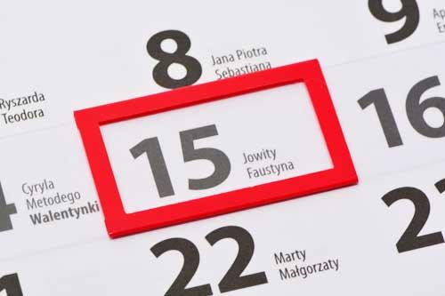okienka do kalendarzy - nakładane