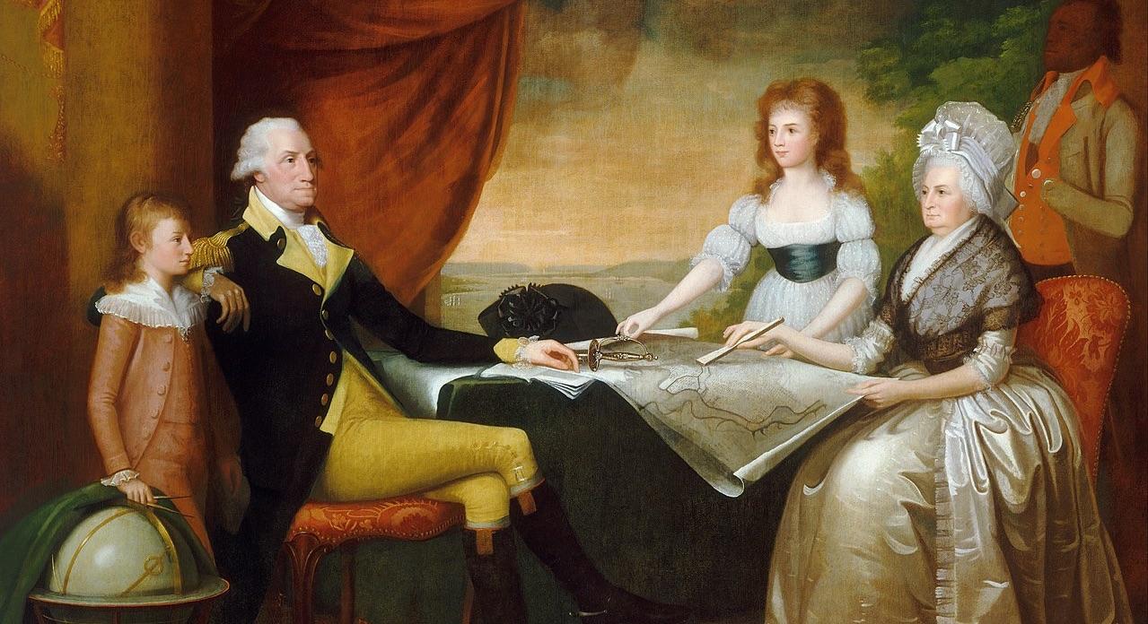 Edward Savage - The Washington Family