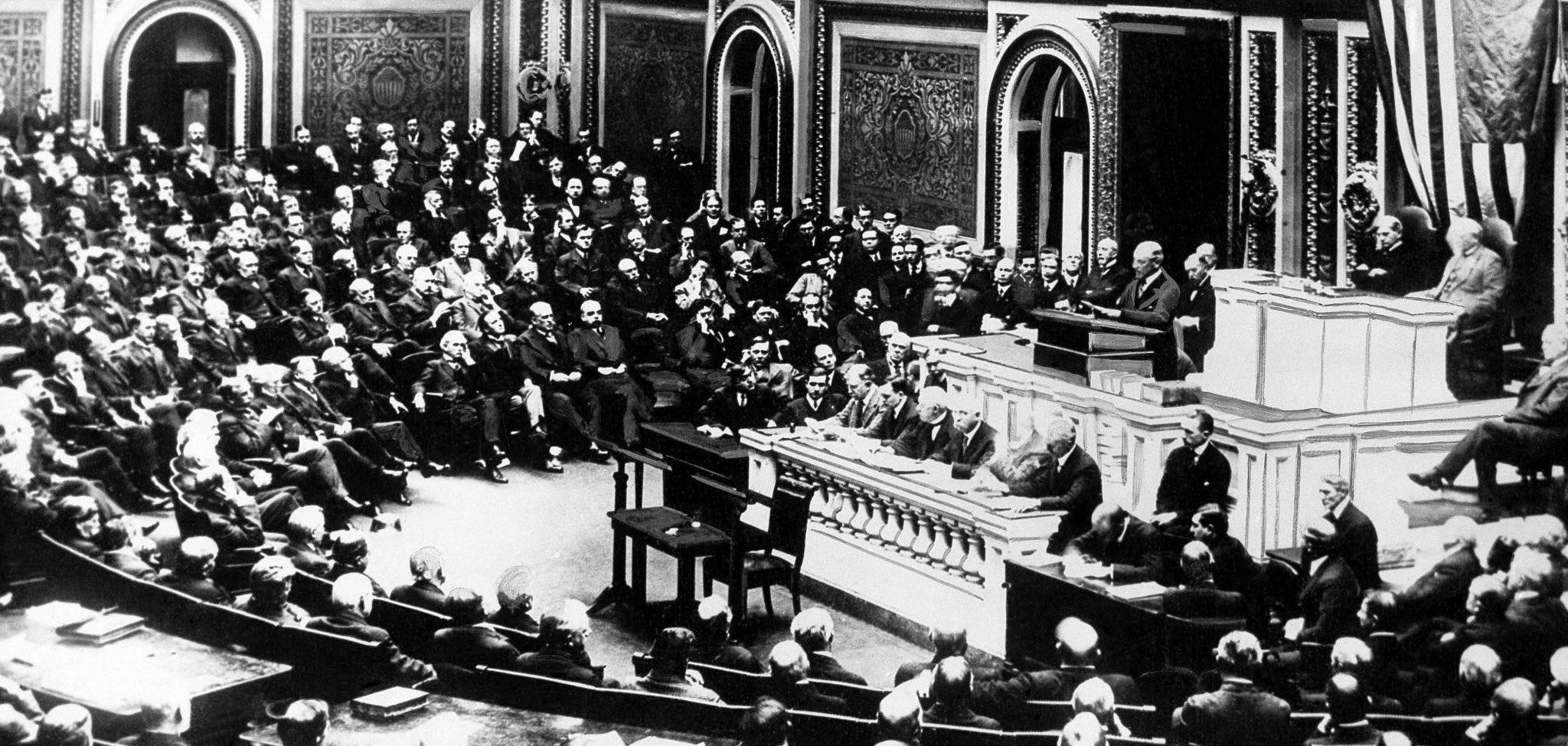 Woodrow Wilson Fourteen Points Address to Congress