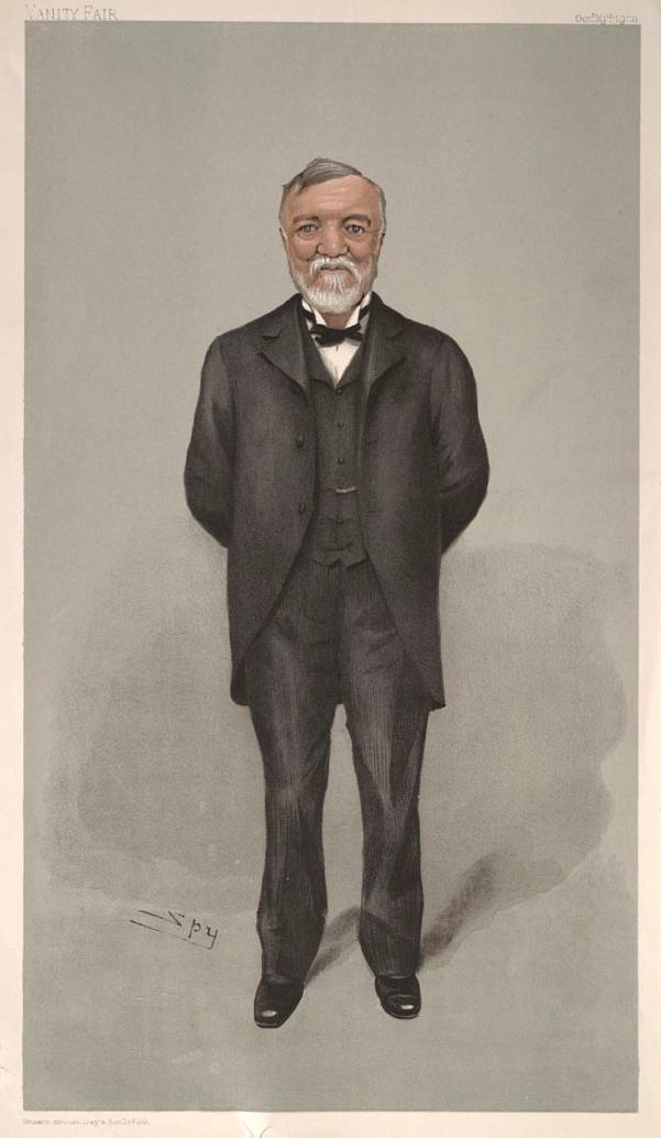 Andrew Carnegie, 1902