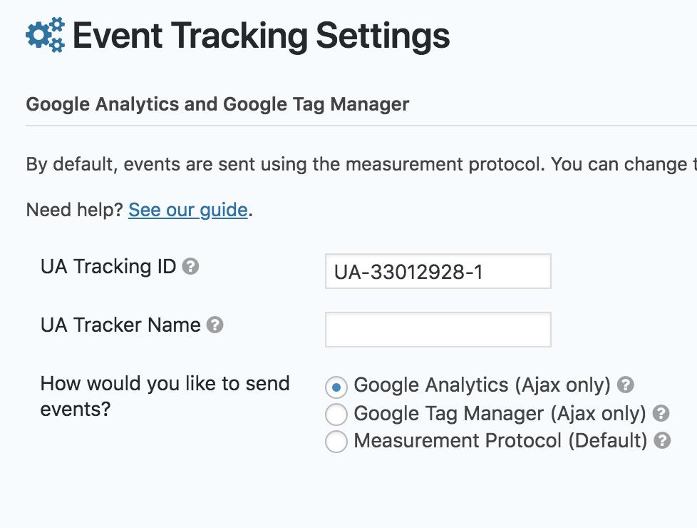 Custom Tracker Option