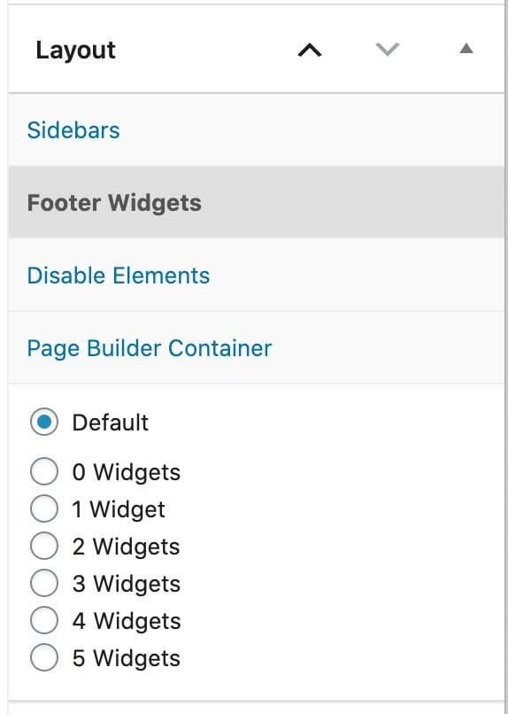 Footer Widgets in GeneratePress