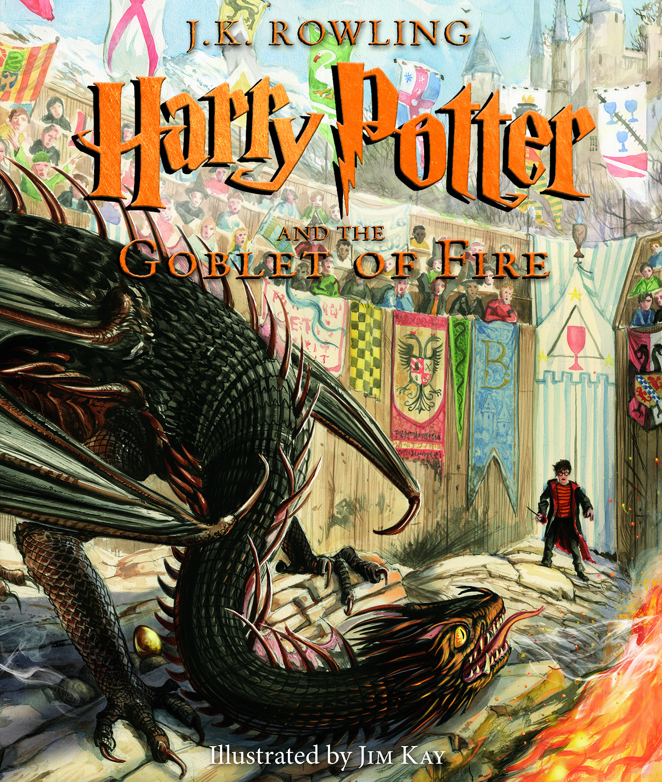 Scholastic Reveals Cover Of Harry Potter And The Goblet Of