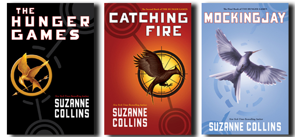 Image result for the hunger games trilogy books
