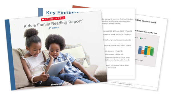 Fourth Edition Kids and Family Reading Report