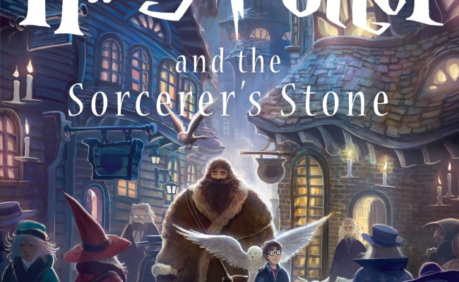 Scholastic Unveils First Of Seven New Covers For The Harry