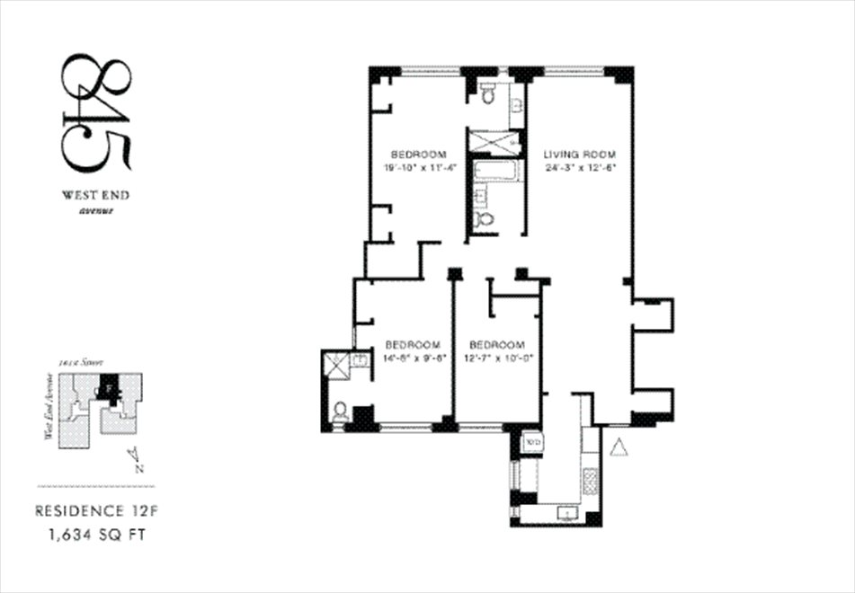 845 West End Avenue Apt 8f, Upper West Side, Nyc Real