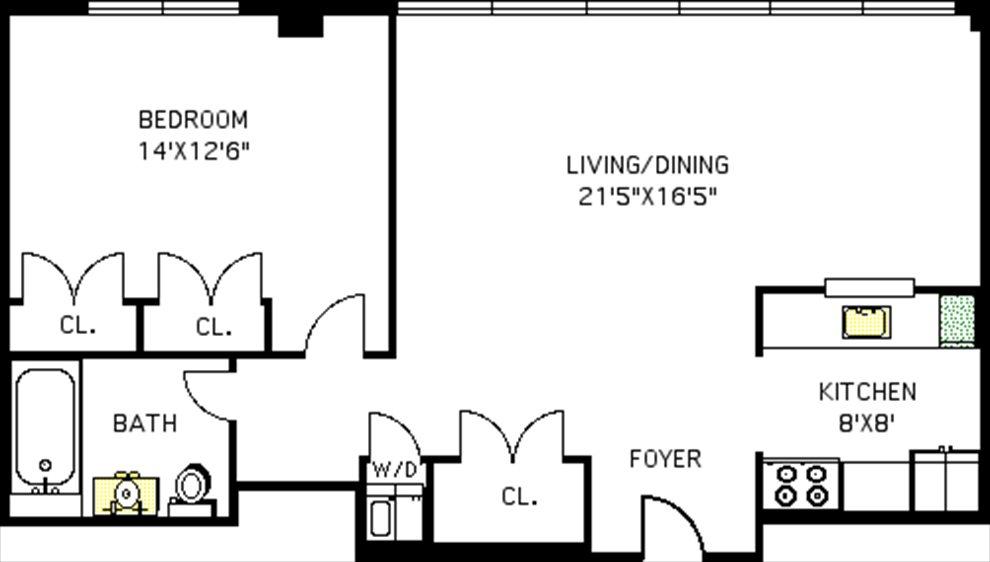 609 Myrtle Avenue Apt 3d, Clinton Hill, Nyc Real Estate