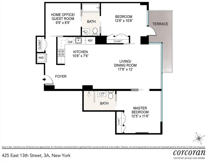 425 East 13th Street Apt 3a, East Village, Nyc Real Estate