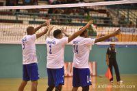 1er tour qualificatif Coupe du Monde 2018 volley_ La Martinique est restée soudée.