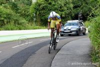 Tour cycliste de Martinique 2016_portrait Yolan Sylvestre-effort
