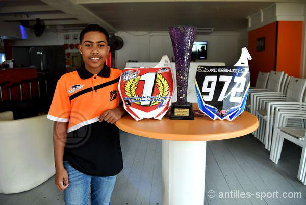 axel marie-luce_champion de France junior