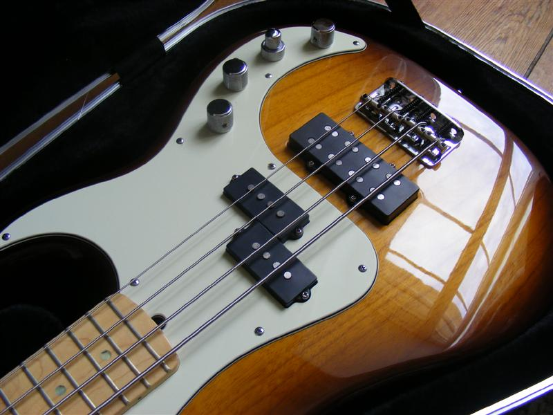Jazz Bass Pickup Wiring