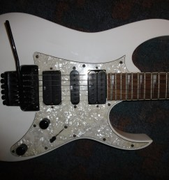 ibanez electric guitars musician 39 s friend mine basswood wizard ii neck edge floyd rose style tremelo ibanez ibanez 350 dx manual rg350 guitar  [ 4000 x 3000 Pixel ]