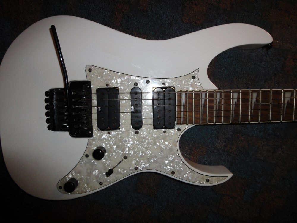 medium resolution of ibanez electric guitars musician 39 s friend mine basswood wizard ii neck edge floyd rose style tremelo ibanez ibanez 350 dx manual rg350 guitar