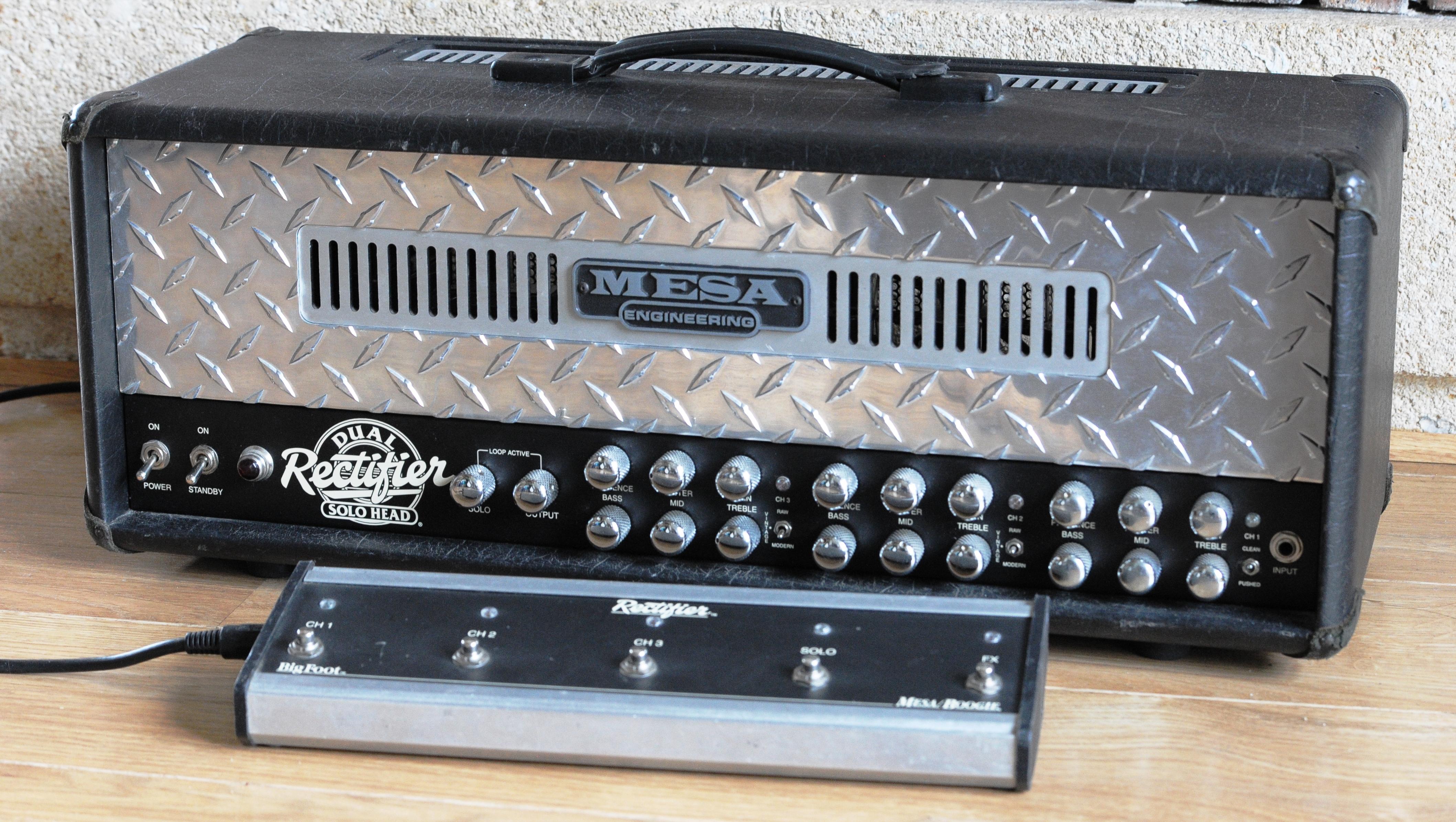 Mesa Boogie Dual rectifier solo head 100w image 1219012