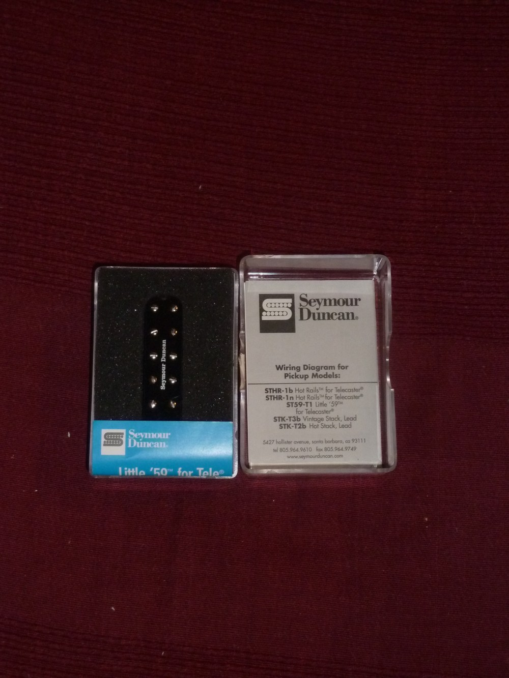 medium resolution of  seymour duncan st59 1b little 59 telecaster