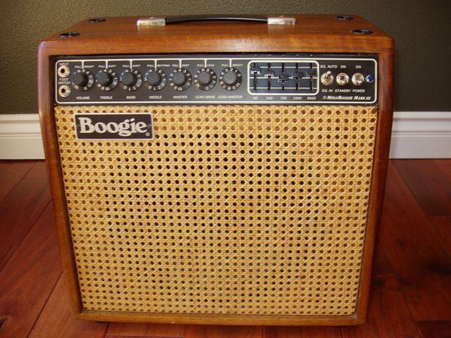 Mesa Boogie Mark III Combo Hardwood image 118812