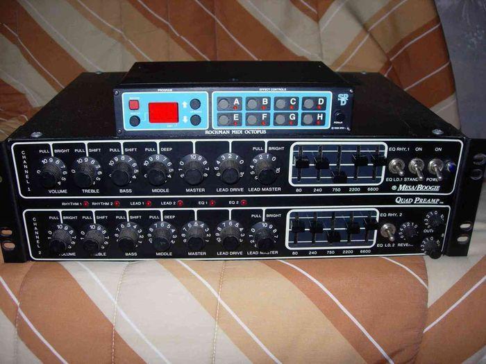 Photo Mesa Boogie Quad Preamp  Mesa Boogie Quad Preamp
