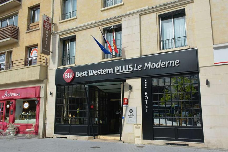 best western plus le moderne hotel