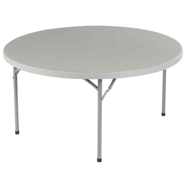 table ronde pliante duralight 180 cm