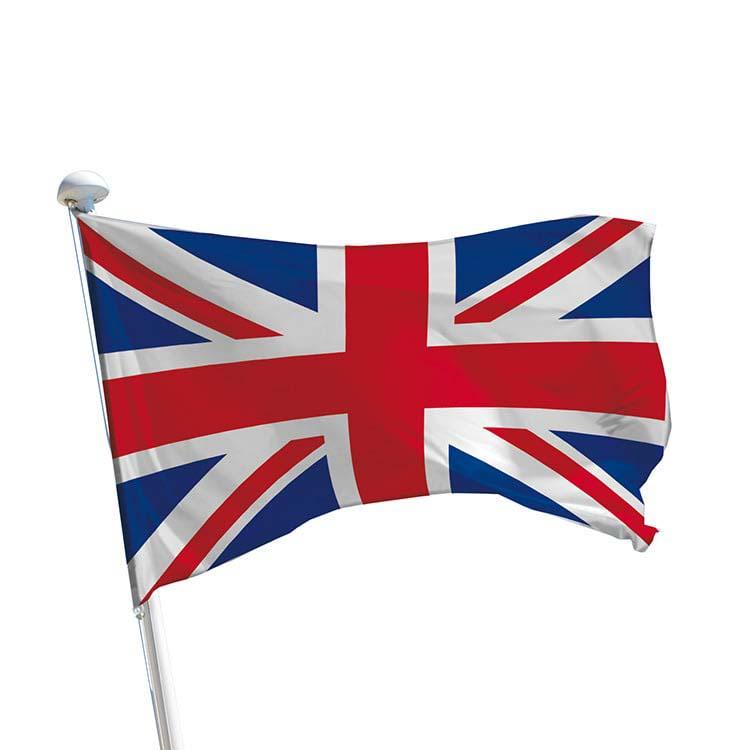 drapeau du royaume uni union jack sur