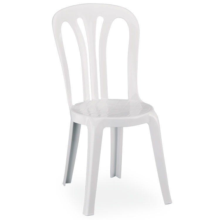 chaise catering blanche